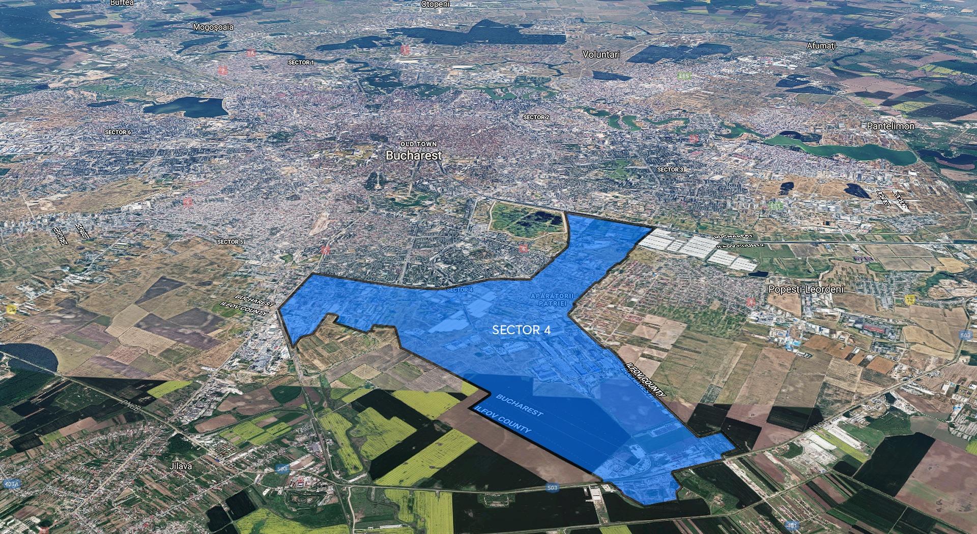 "Comunicat de presa ""PUZ – Zona de sud a sectorului 4"""