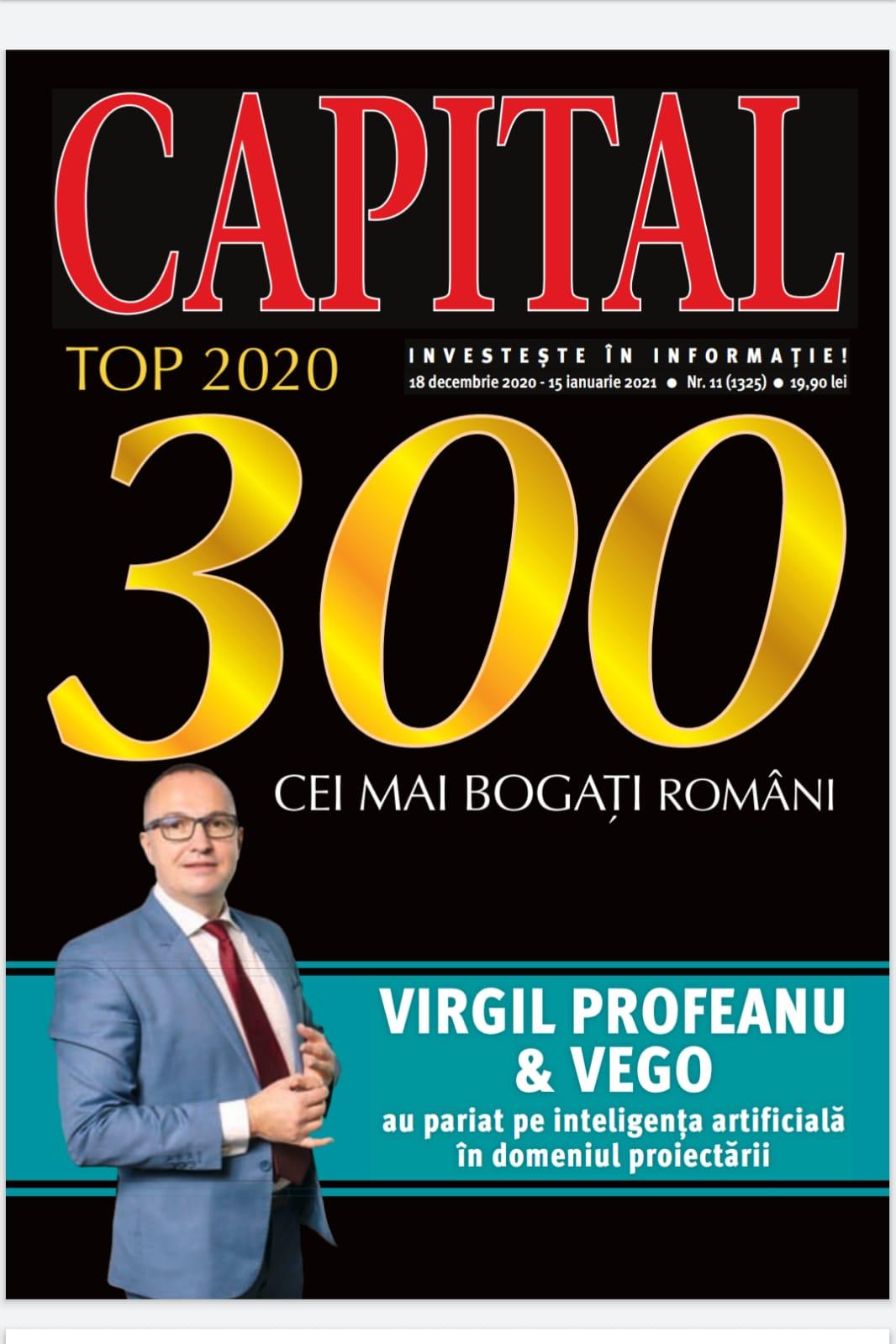 Story Capital! Virgil Profeanu și Vego au pariat pe AI în domeniul proiectării